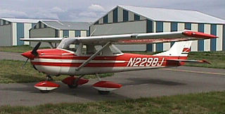 Bitterroot Aviation's Cessna 150G..the plane I am learning to fly